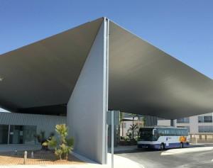 Enjoy at bus station of Santa Pola!