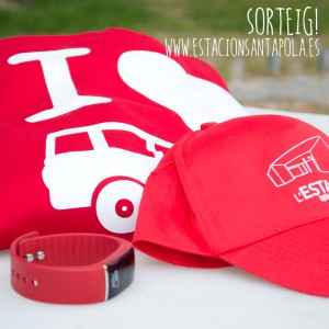 L´ Estació de Santa Pola sorteja una dessuadora, una gorra i un rellotge intel·ligent!