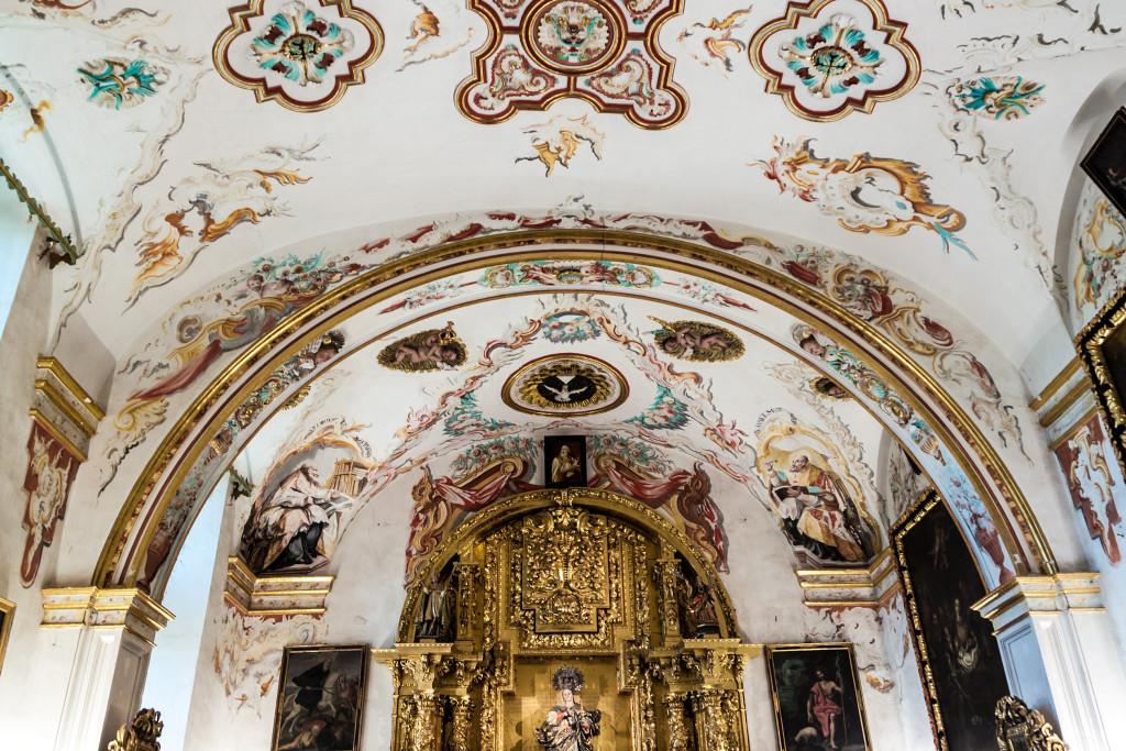 Yuso Monastery in San Millan de la Cogolla, La Rioja, Spain